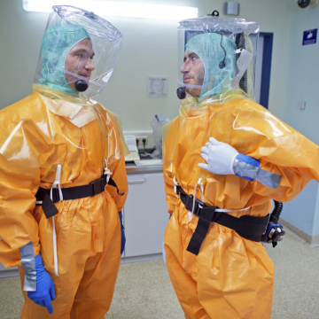 Quarantine station is also prepared for Ebola