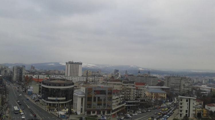 Panorama orașului de pe BCU