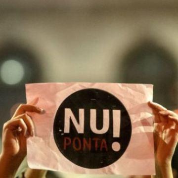 protest anti ponta