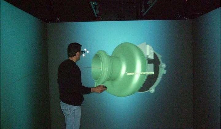 Centrul de vizualizare avansată 3D