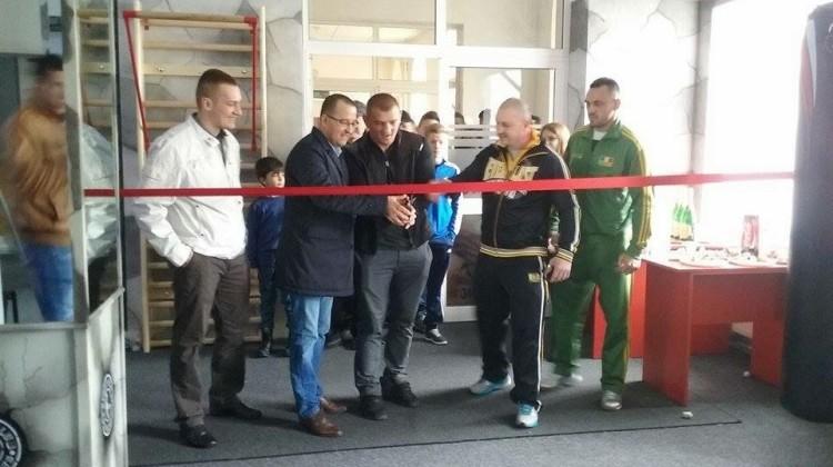 Inaugurare sală kickboxing Onești